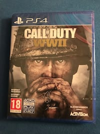 Jeu call of duty wwii ps4