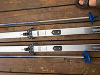 Cross country skis  with shoes set of 2 Kitchener, N2C 1Z4