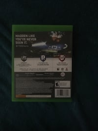 Madden nfl 18 xbox one game case Winchester, 22601