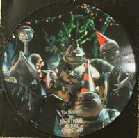 Nightmare Before Christmas Vinyl Record Davis