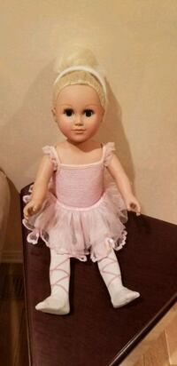 baby doll in white and pink dress Vaudreuil-Dorion, J7V 9S3