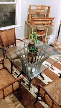 Bamboo and rattan table and chairs Richmond, 23220