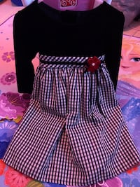 Dress size 3 t black and white  Toms River, 08757