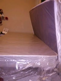 I month old TWIN BRAND NEW BOXSPRING MATTRESS AND  Edmonton, T5P 2H2