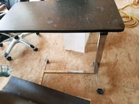 rectangular black wooden folding table Alberta Beach, T0E 0A0