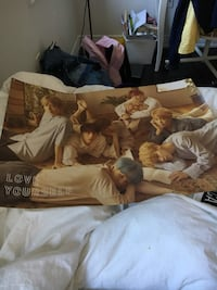 BTS Love yourself official poster  Pickering, L1X