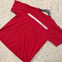 red and white Perry Ellis crew-neck shirt Richmond, V7A 1J4