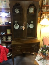 Vintage Dark Wood Secretary/Desk Sykesville, 21784