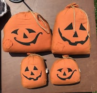 Jack O'Lantern sak Halloween pumpkin decorative decor pillows Camp Hill, 17011