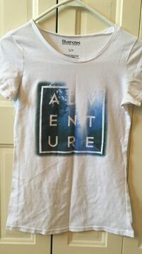 Cute white adventure shirt