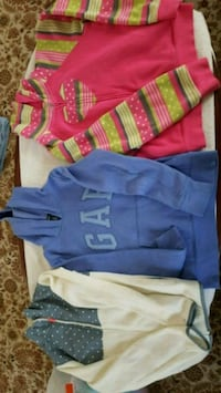 Girls Hoodies, size 10-12 Ashburn