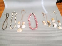 Shell Necklace Jewelry Lot! Frederick