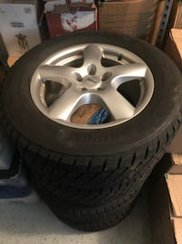 "Set of 18"" Bridgestone Winter Snow/Ice Tires on Rial Wheels Leesburg"
