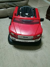 toddler's red and black car ride-on toy Wichita