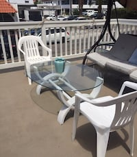 white wooden dining table set San Clemente, 92672