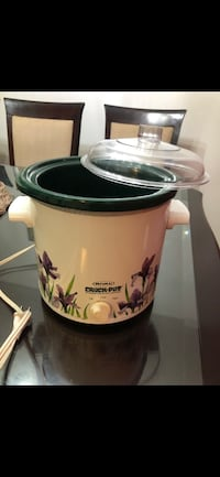 Rival Crock Pot Stoneware Slow Cooker with Carrying Case Reston, 20190
