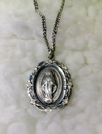 Miraculous Mary Medal w/ chain Prattville