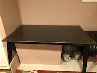 rectangular black wooden coffee table West Bloomfield, 48322