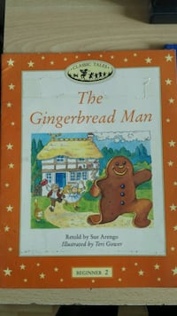 Cuentos clásicos The Gingerbread Man Beginner 2 book