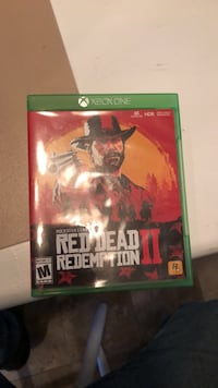 Xbox 1 red dead 2 Richmond, 40475
