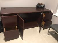 Wooden Credenza with File Drawers Fairfax, 22031