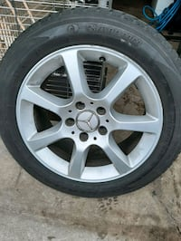 Mercedes rims with winter tires Toronto