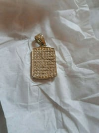 gold-colored diamond studded pendant Dayton, 45402
