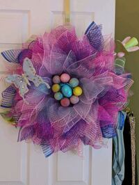 Handmade Easter Wreath Ashburn, 20147