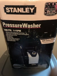 New pressure washer 607 km