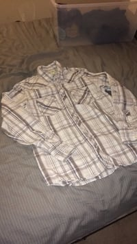 white and gray plaid sport shirts Knoxville, 37909