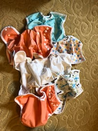 7 Thirsties Cloth Diaper Covers Burke, 22015