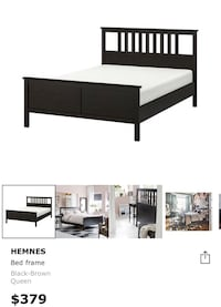 Bed frame queen size Ikea (great condition ) Toronto, M5E