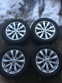 Kia 16 inch. Oem rims and all season tires Edmonton, T6J 4T5