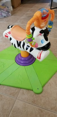 Fisher Price Go Baby Go Bounce and  Spin Zebra Miami, 33185