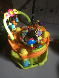 baby's yellow and green activity saucer Barrie, L4N 0J7