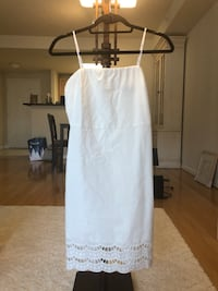 White sleeveless dress from Lulu's Vienna, 22180