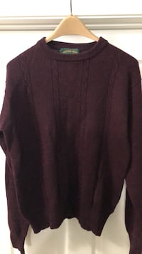 All wool men's sweater, Large. Millstone Township, 08510