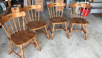 Solid wood chairs Vaughan, L6A 2P5