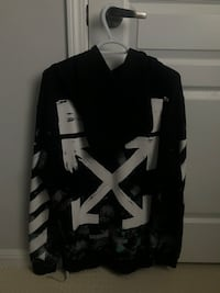 Spray Paint Off-White Pull Over