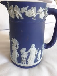 Wedgwood Blue Jug small chip TORONTO