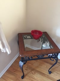 One coffee table, two side tables and a carpet  Laval, H7R 6H8