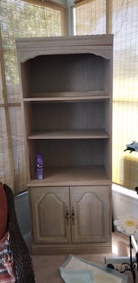 brown wooden cabinet with shelf New Port Richey, 34654