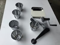 Stainless steel vegetable grinder Richmond, V7C