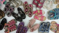 (156) Girls' Sandals All Sizes from $5 each