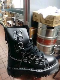 Chunky dr. Martens boots...brand new never worn in the box!Shoes