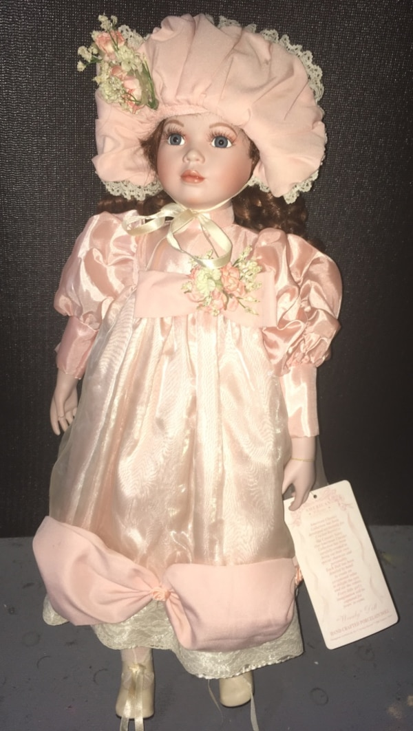 American Classic Collection hand crafted porcelain doll