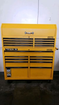 brown wooden Snap-on tool cabinet West Sacramento, 95691