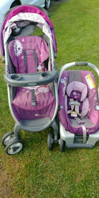 Graco Disney Minnie Mouse Stroller and car seat  Bridgeview