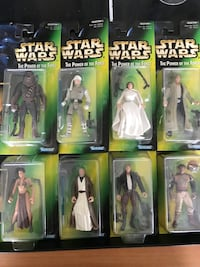 Vintage collection 1-2 NRFB Starwars Figures. Excellent collector or resale Cary, 60013