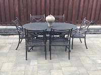 Iron outdoor patio table  Vaughan, L4H 3H4